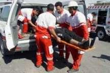 امداد رسانی به 2397 حادثه دیده توسط هلال احمرالبرز