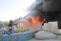 آتش سوزی در بوکان 7.3 درصد کاهش یافت