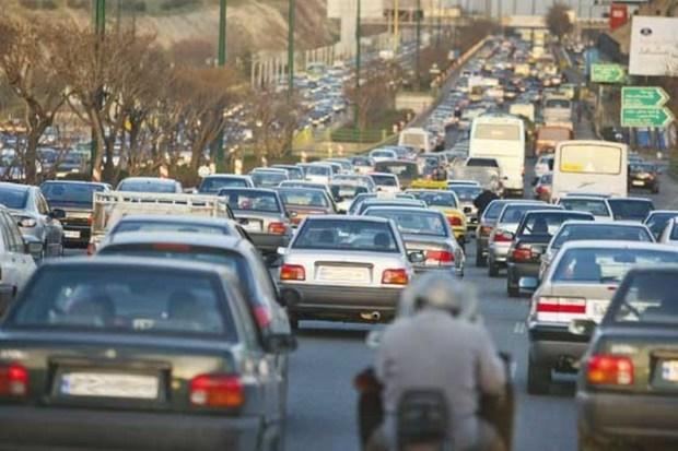 ترافیک در مسیرهای جنوبی تهران سنگین است