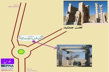 میراث فرهنگی فارس: حریم تخت جمشید نقض نشده است