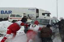 1440 نفر در کولاک و برف چهارمحال وبختیاری امداد رسانی شدند