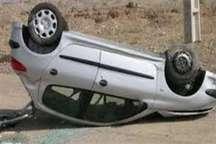 واژگونی خودروی سواری در جاده شاهیندژ- تکاب 4کشته و 2زخمی برجا گذاشت