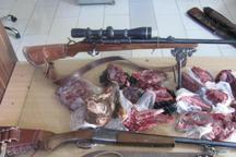 شکارچیان غیرمجاز در فیروزکوه دستگیر شدند