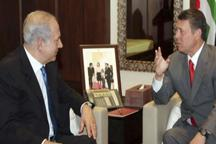 دیدار نخست وزیر رژیم صهیونیستی با پادشاه اردن در امان