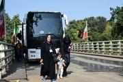 زائران جمهوری آذربایجان از مرز آستارا عازم مشهد شدند