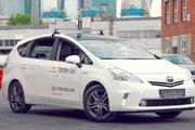 خودروی بدون راننده در خیابانهای برفی روسیه میراند + ویدیو
