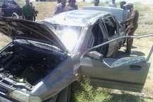 واژگونی خودرو در محور نیشابور چهار مصدوم داشت