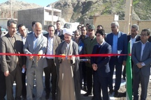 سه پروژه عمران شهری در پلدختر به بهره برداری رسید