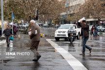 آمادهباش نیروهای خدماتی و تجهیزات سازمان پارکهای تبریز همزمان با ورود سامانه جدید بارشی