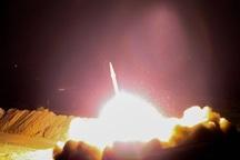 گزارش میدانی از حمله موشکی ایران به مواضع داعش در استان دیرالزور سوریه
