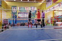 منطقه آزاد اروند قهرمان مسابقات کونگ فو کشور شد