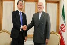 دیدار معاون ارشد وزارت خارجه ژاپن با ظریف در تهران