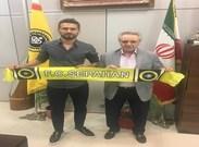 سجاد شهباززاده با سپاهان قراردادش را تمدید کرد+ عکس