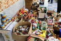 40 تن مواد خوراکی فاسد در منطقه کاشان کشف و معدوم شد