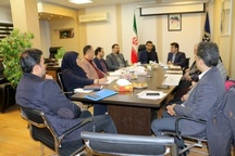 برگزاری جلسه کمیته درآمدی در منطقه یک شهرداری رشت