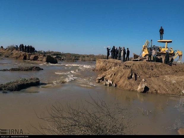 40روستای دشت آزادگان در معرض سیلاب هستند