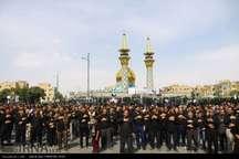 دیار الوند صحنه شور و شعور حسینی در روز تاسوعا