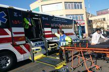 11 مصدوم تصادف رانندگی آذرشهر به تبریز منتقل شدند