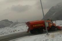 840 کیلومتر باند از جاده های استان مرکزی برفروبی شد