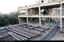 11 هزار تن فولاد در مناطق زلزله زده کرمانشاه توزیع شد