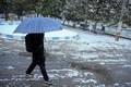 برف و باران در راه قزوین