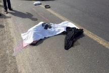 تصادف پژو با عابر پیاده در رامهرمز به مرگ منجر شد