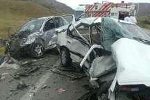 تصادف 2 خوردی پژو در محور بجنورد- جنگل گلستان 3 کشته و یک زخمی داشت