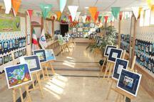 نمایشگاه نقاشی آب - زندگی در کرج گشایش یافت