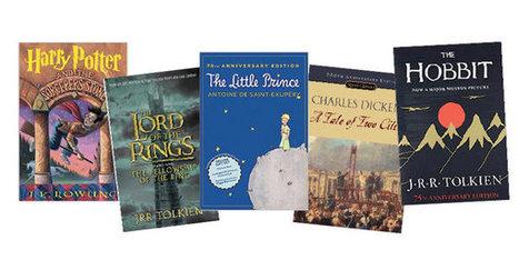 معرفی پرفروش ترین کتاب های جهان+ عکس