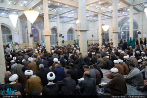 بیست و پنجمین سالگرد آیت الله العظمی گلپایگانی(ره) در مسجد اعظم قم