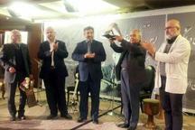 اهدای دهمین نشان مفاخر فارس به پدر موسیقی شیراز