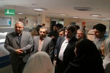 تجهیز بیمارستان الزهرا (س) گیلانغرب در دست پیگیری است