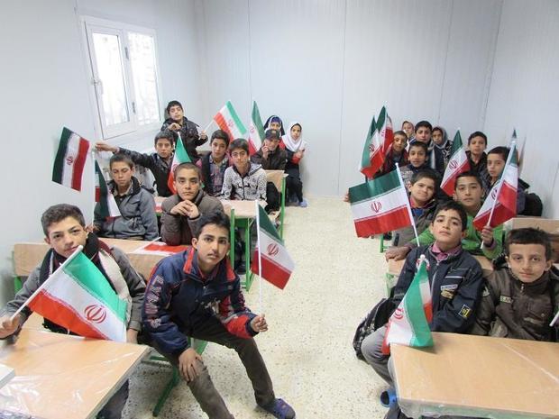 مدرسه 6 کلاسه خیری در مهرستان به بهره برداری رسید