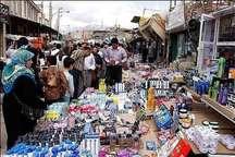 بازار جوانرود یکی از مقاصد گردشگری غرب کشور مملو از مسافران نوروزی