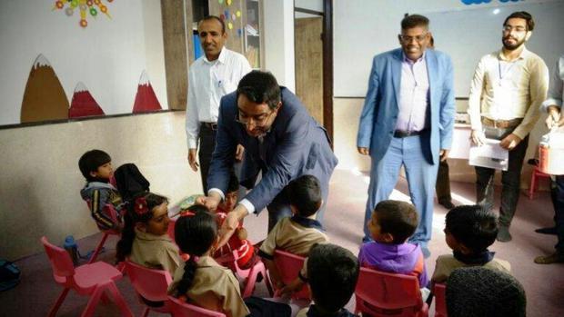 5771 کودک در سیریک علیه فلج اطفال واکسینه می شود