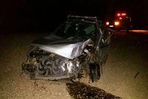 واژگونی خودرو سواری در جاده قم - گرمسار ۴ مصدوم داشت
