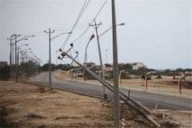 تندباد سه میلیارد ریال به تاسیسات برق شادگان خسارت زد