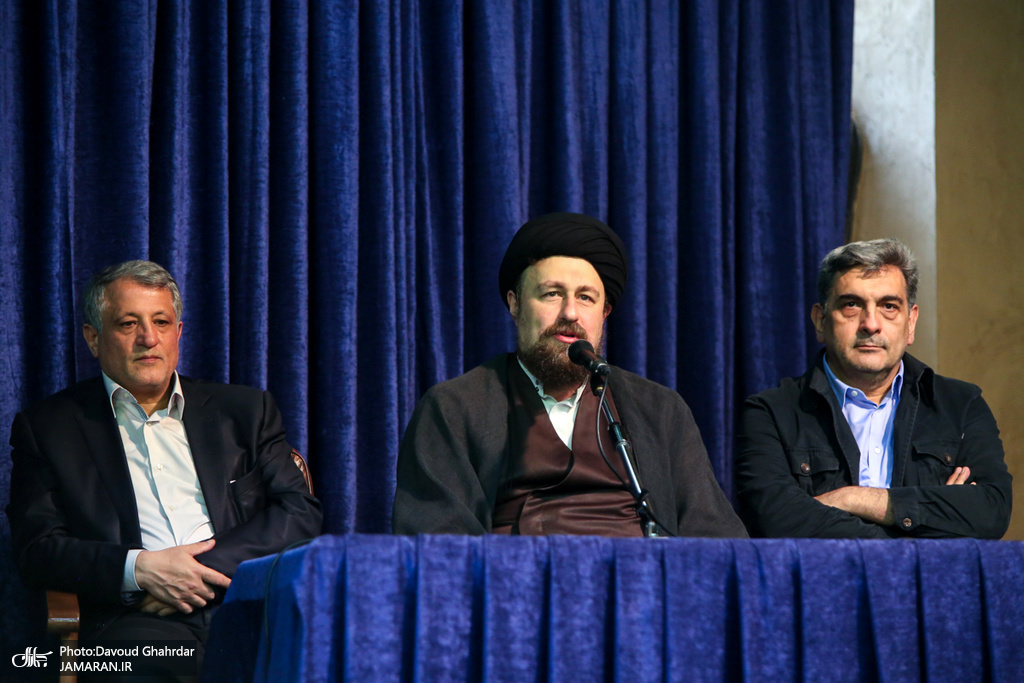 Image result for جدید میثاق مدیران شهری با آرمان های امام خمینی؛ هشدار سید حسن خمینی نسبت به ناکارآمدی مسئولین