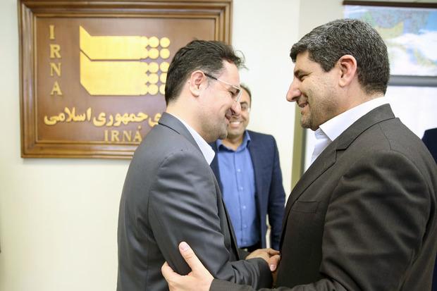 مدیرعامل نوسازی اراضی عباس آباد تهران از ایرنا دیدن کرد