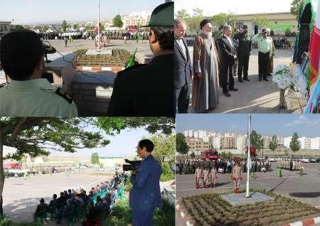 صبحگاه مشترک نیروهای مسلح در شهرستان بستان آباد