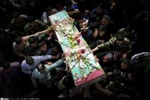 پیکر شهید گمنام در دانشگاه صنعتی سیرجان به خاک سپرده شد