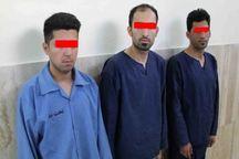 دستگیری زورگیران مسلح که با خودروهای مسروقه درتهران سرقت می کردند