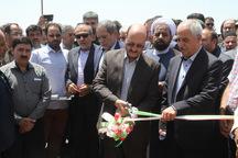 یک پروژه آبرسانی در قزوین افتتاح شد