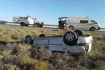 واژگونی خودرو در جاده سبزوار- شاهرود  6 مصدوم داشت