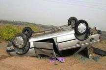 واژگونی خودرو در اندیمشک یک کشته و سه مصدوم برجا گذاشت