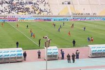 دربی سرخابی های فوتبال خوزستان برنده نداشت