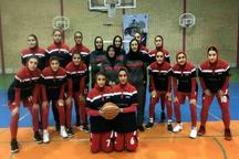 شکست حریف مشهدی توسط تیم بسکتبال بانوان شهرداری قزوین