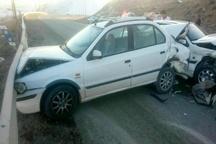 8 مصدوم در برخورد خودروی سمند با پژو پارس در اسدلی
