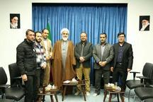 جمعی از اساتید و پژوهشگران افغان با نماینده ولی فقیه در استان قزوین دیدار کردند