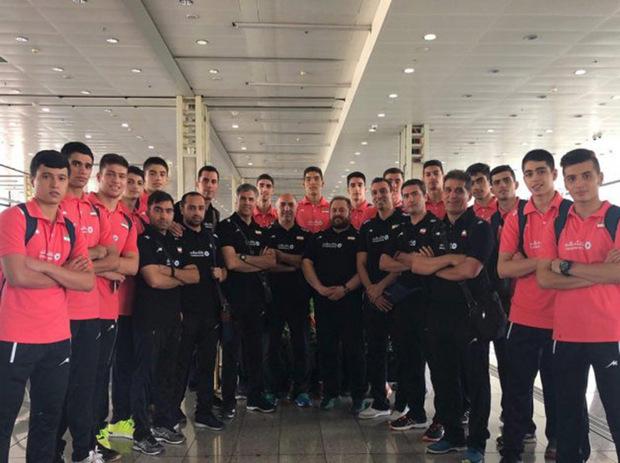 والیبالیست های نوجوان گلستان عازم کره جنوبی شدند